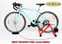 Bike Trainer With Wired Shifter