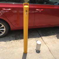 Manual Steel Removable Bollard with Inner Lock RB07